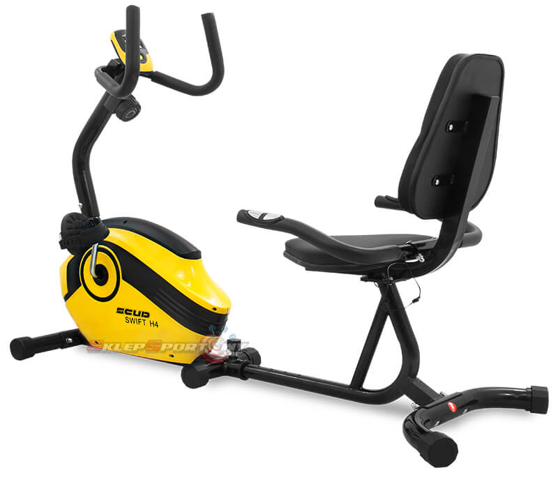 Rower SCUD Swift H4, żółty