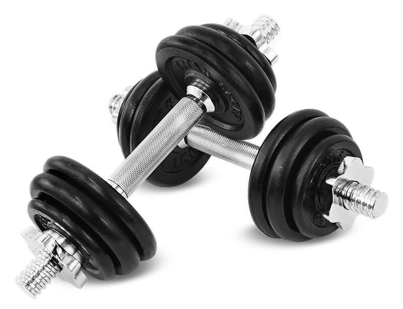 hantle żeliwne Tytan sport 15 kg