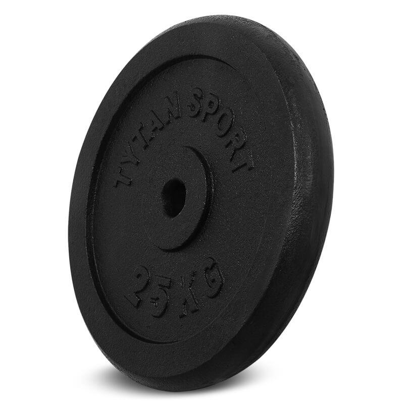 Obciążenie żeliwne 25 kg, sklep sportowy dzierżoniów