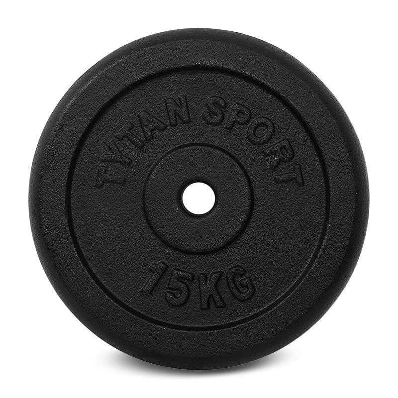 Obciążenie żeliwne 15 kg, sklep sportowy dzierżoniów