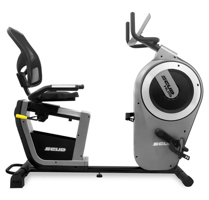 Elektryczny rower poziomy SCUD U7 Huis , sklep sportowy , sklep sportowy dzierżoniów