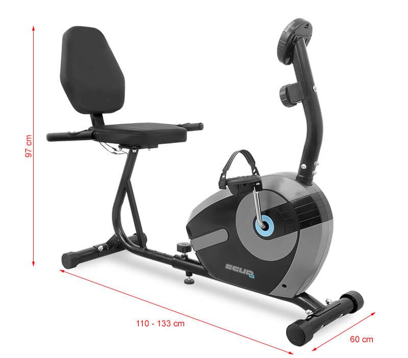 Rower SCUD H7, czarny